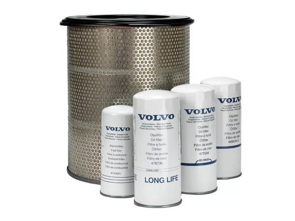 Виды фильтров для спецтехники Volvo, правила их обслуживания и замены