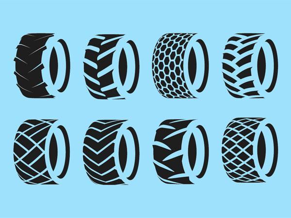 Протекторы шин для спецтехники: виды и особенности