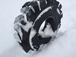Как выбрать зимние шины для вилочного погрузчика?