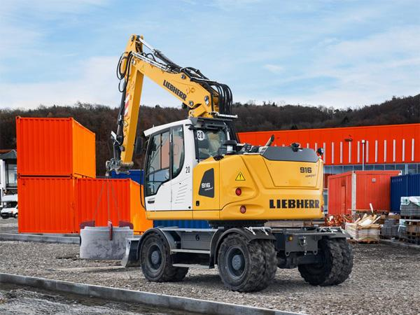 LIEBHERR A 916 Compact Litronic