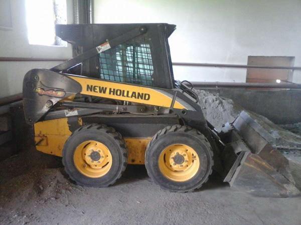 Мини-погрузчик New Holland L140
