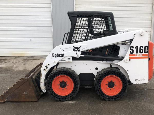 Мини-погрузчик Bobcat S160