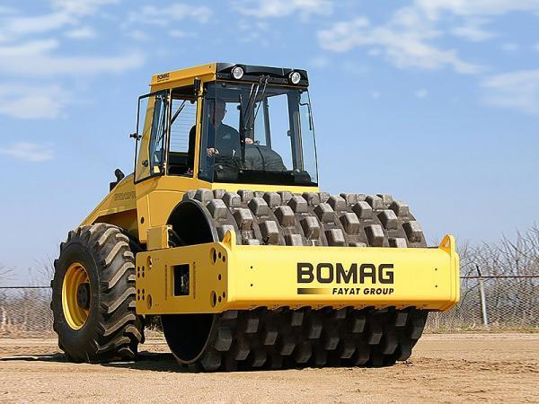 Грунтовый каток Bomag BW212